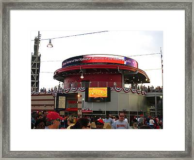 Nationals Park - 01131 Framed Print by DC Photographer