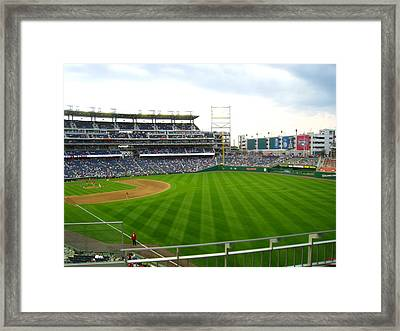 Nationals Park - 01135 Framed Print by DC Photographer