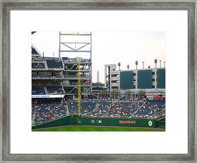 Nationals Park - 01137 Framed Print by DC Photographer
