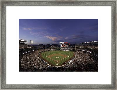Nationals Park Washington D.c. Framed Print