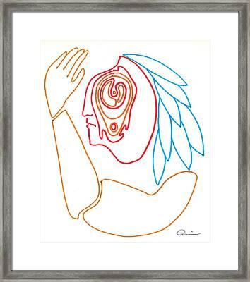 Native 1969 Framed Print