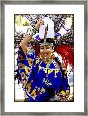 Native American Beauty Framed Print