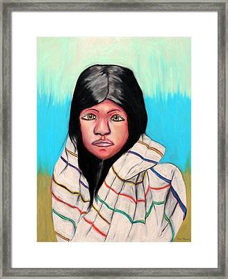 Native American Girl 1 Framed Print