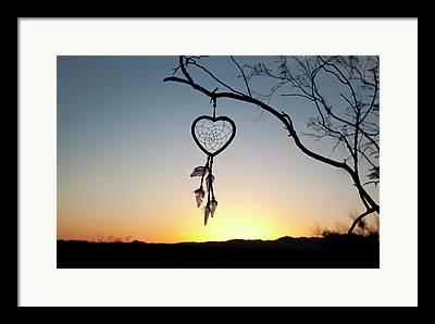 Broken Hearted Framed Prints