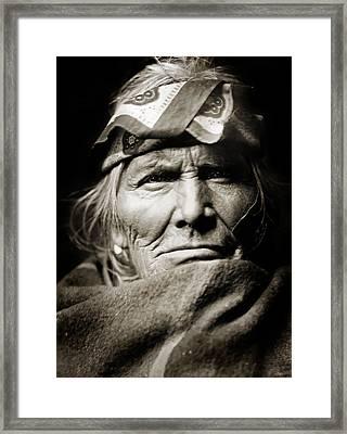Native American Zuni -  Si Wa Wata Wa  Framed Print by Jennifer Rondinelli Reilly - Fine Art Photography