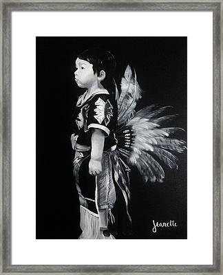 Native Boy Framed Print