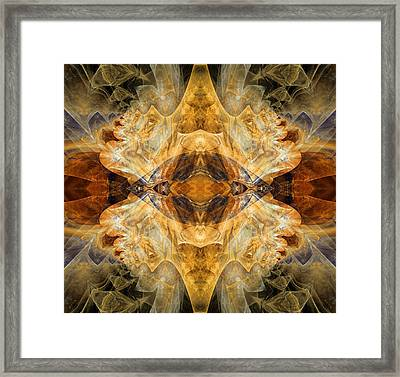 Native Charm - Abstract Framed Print by Georgiana Romanovna