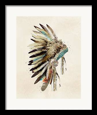 Feathers Framed Prints
