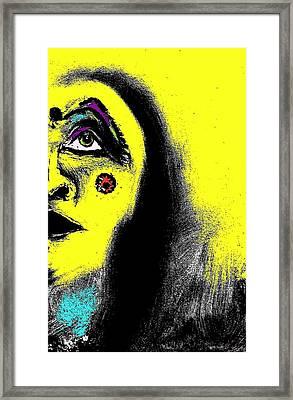 Native Immortal Woman  Framed Print by Ayasha Loya Aka Pari  Dominic