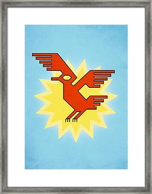 Native South American Condor Bird Framed Print
