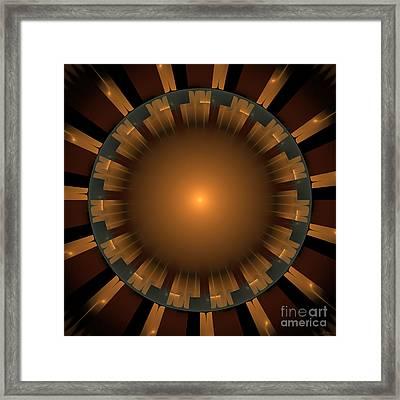 Native Sun Framed Print by Arlene Sundby