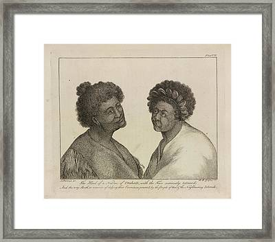 Natives Of Otaheite Framed Print by British Library