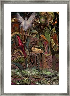 Nativity 1113 Framed Print by David Lane