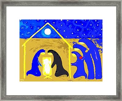 Nativity 2 Framed Print by Patrick J Murphy