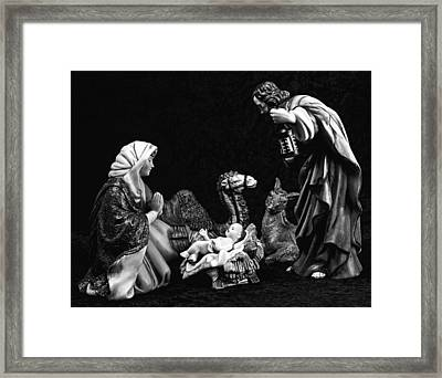 Framed Print featuring the photograph Nativity  by Elf Evans