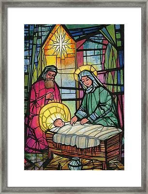 Nativity  Framed Print by Stanley Cooke