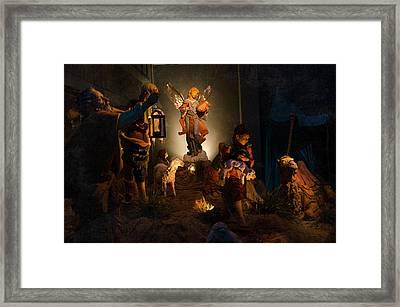 Nativity  Framed Print by Susan  McMenamin