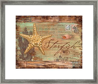 Natura Starfish Framed Print