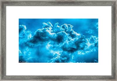 Natural Abstract Creations No 101 Framed Print by Bob and Nadine Johnston