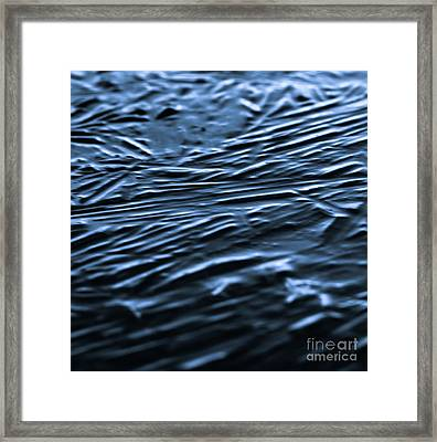 Natural Abstracts - Ice Framed Print