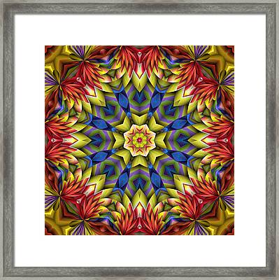 Natural Attributes 06 Square Framed Print