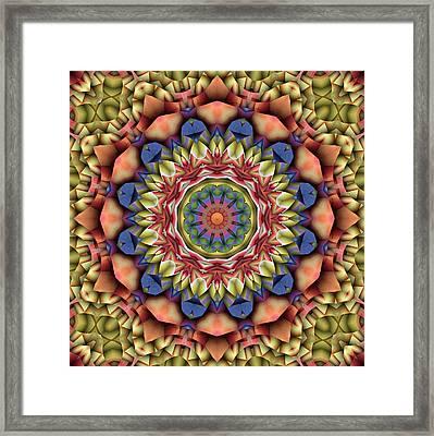 Natural Attributes 12 Square Framed Print
