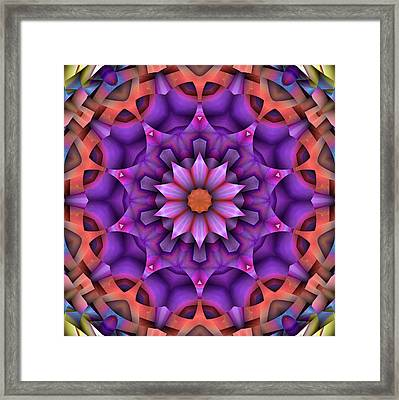 Natural Attributes 15 Square Framed Print by Wendy J St Christopher