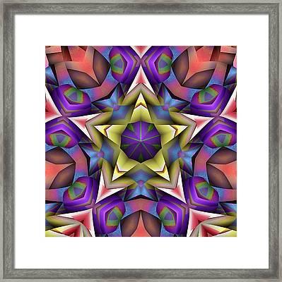 Natural Attributes 16 Square Framed Print