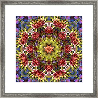 Natural Attributes 18 Square Framed Print