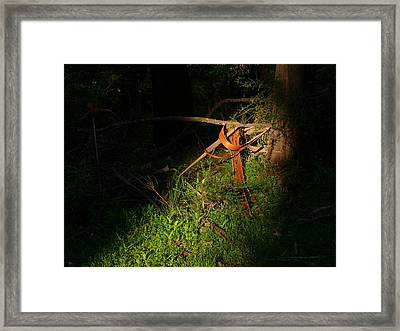 Framed Print featuring the photograph Natural Bands 2 by Evelyn Tambour