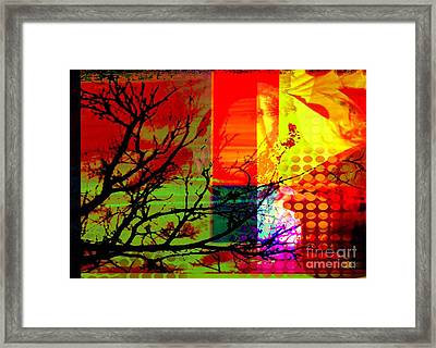 Natural Beauty #1 Framed Print by Diana Riukas