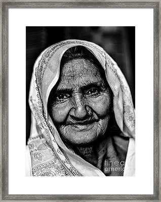 Natural Beauty Framed Print by Gautam Gupta