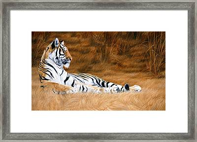 Natural Beauty Framed Print by Lucie Bilodeau