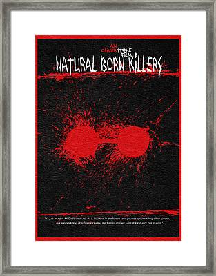 Natural Born Killers Framed Print