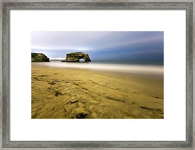 Natural Bridges Framed Print
