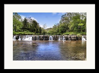 Mountain Fork Creek Framed Prints
