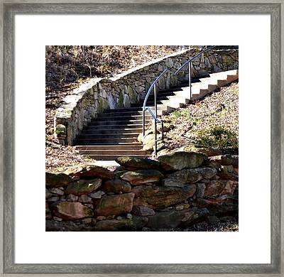 Natural Exit  Framed Print