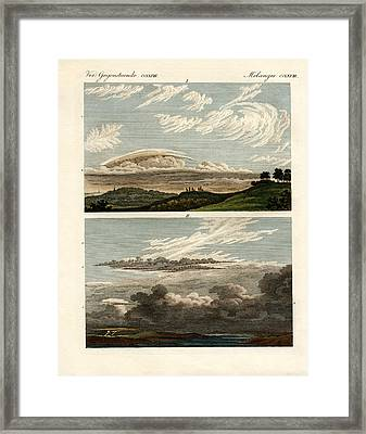 Natural History Of The Clouds Framed Print