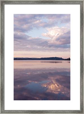 Natural Mirror Framed Print by Jenny Rainbow