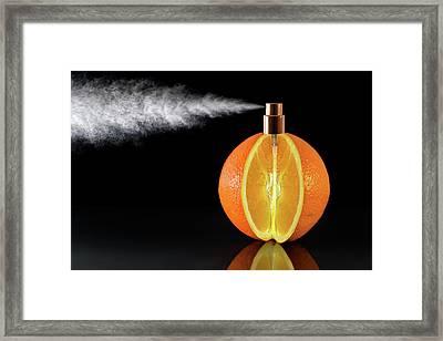 Natural Perfum Framed Print