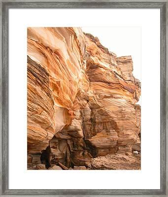 Natural Rock Framed Print
