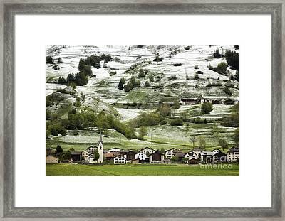 Natural Shade Framed Print by Maurizio Bacciarini