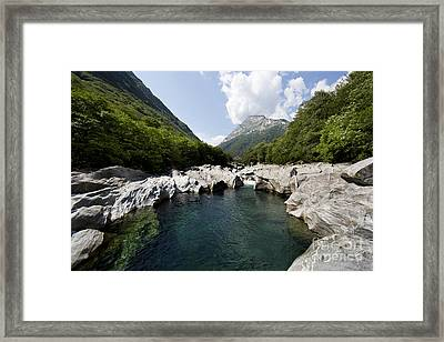 Natural Swimming Pool Framed Print by Maurizio Bacciarini