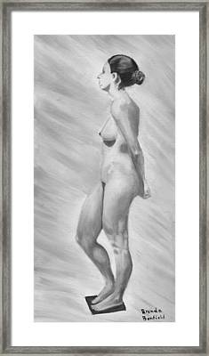 Natural Woman Framed Print