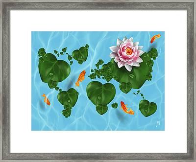 Natural World Framed Print
