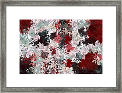 Naturaleaves - S69-02a Framed Print by Variance Collections