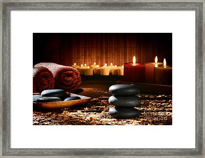 Naturally Relaxing Framed Print by Olivier Le Queinec