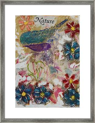 Nature 15 Framed Print
