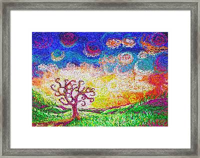 Nature 2 22 2015 Framed Print