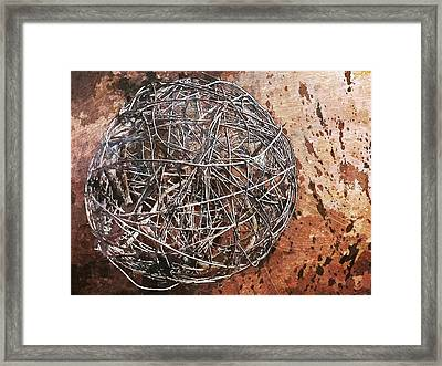 Nature Abstract 88 Framed Print